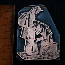 TROST !!! Galvano Druckstock Kupferklischee Druckplatte copper plate letterpress