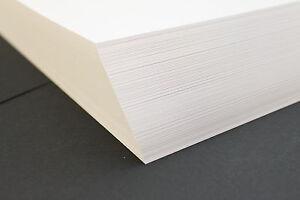 A5, A4, A3 WHITE DECOUPAGE CRAFT CARD. 160gsm 200gsm 300gsm 350gsm 400gsm.