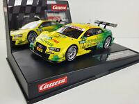 Slot Car Scalextric Carrera Evolution 27473 Audi A5 DTM #1 M.Rockenfeller 2014