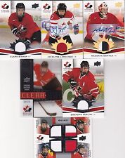 2014 Upper Deck Team Canada Juniors Brendan Perlini Jersey