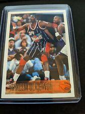 1996-97 Topps Basketball #35 Hakeem Olajuwon Houston Rockets (Kobe Rookie Year)