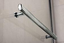 Towel Rail for Bath Screen Door Panel Long Handle Shower Enclosure Chrome Door