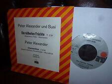 Peter Alexander Und Susi, Die Sussesten Fruchte, Clementine, Ariola 13538 AT