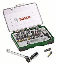 Bosch DIY 27tlg. Schrauberbit und Ratschen-Set Top Qualitat Werkzeug Zubehor