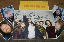 RED SUN RISING Band Autographed Photo r & Photos- Collectible