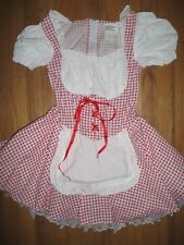 California Costume Halloween Little Miss Red Riding Hood Dress Tween Size 14-16