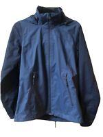 The North Face Women's Dry Vent Windbreaker Hooded Jacket Navy Blue Sz Medium