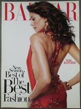 Harper's Bazaar Fashion Magazine February 2005 Issue Teri Hatcher Cover