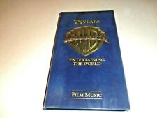 Warner Bros Brothers 75 Years Entertaining The World Film Music 4 CD Box Set