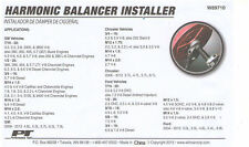 Performance Tool HARMONIC BALANCER INSTALLER W89710