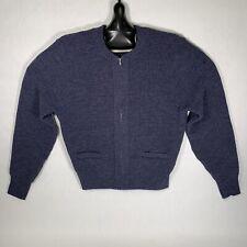 Vintage Regulation Postal Sweater USPS San Francisco Knitting Mills BLUE