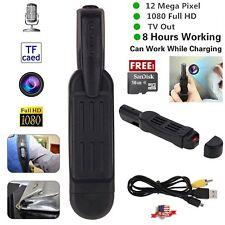 Mini 1080P Full HD DV DVR Pocket Spy Pen Camera Hidden Video Voice Recorder 16GB