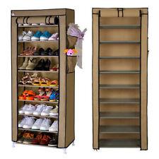 Range-chaussures en métal pour la maison