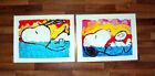 "Snoopy Bora Bora Oogie Down 2 Canvas Print Set 24"" x 32"" Tom Everhart"