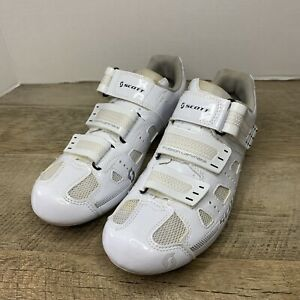 SCOTT Road Comp Lady Cycling Shoes- White Gloss, Size US 7.5