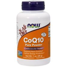 Now Foods CoQ10 Pure Powder - 1 oz FRESH, FREE SHIPPING, MADE IN USA