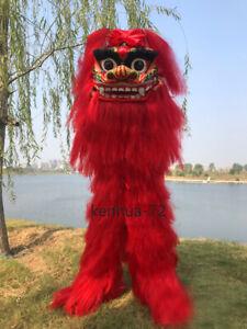 2019 New Lion Dance Mascot Christmas Set Adult Children's Lion Waking Props