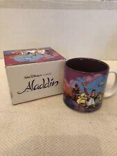 Rare Disney Store Classics Collection Aladdin Collectible Mug New In Box