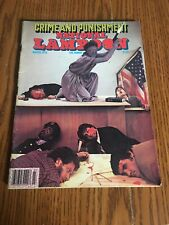 VINTAGE March 1978 NATIONAL LAMPOON  Crime And Punishment