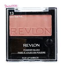 REVLON Powder Blush w Pop Up Mirror #13 LOVE THAT PINK