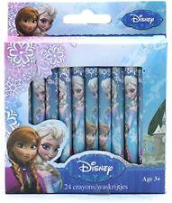 New Disney Frozen 24 Pack Crayons Princess