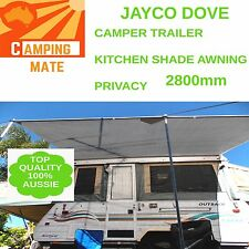 Jayco DOVE privacy screen superior Camping mate SHADE WALL 2800mm 3yr warranty