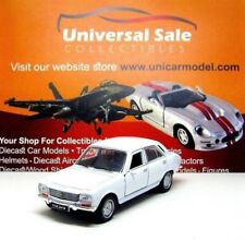 PEUGEOT 504 YEAR 1975 WHITE WELLY 1:38  DIECAST CAR COLLECTOR'S MODEL, NEW