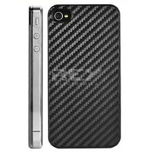 Protector Carbono Trasero p/ iPhone 4 Adhesivo Grafito Negro ¡Desde ESPAÑA! i41