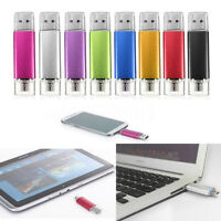 2/4/8/16/32GB PENDRIVE OTG MEMORIA USB 2.0 PENDRIVE  PARA MÓVIL TABLET PC