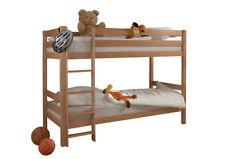 Kinder-Bettgestelle ohne Matratze mit 90 cm Natur aus Buche