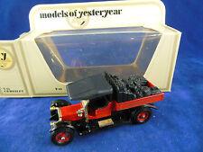 Matchbox Yesteryear código 3 Y13 Clearwater Luz Ferrocarril 1918 Crossley Camión