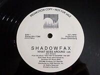 "Shadowfax What Goes Around 12"" Single 1986 Windham Hill Promo Vinyl Record"