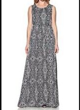 BNWT 🌹GOLDIE London🌹@ LIPSY Maxi Dress XS (6-8) Black Dim Dot Day Evening New