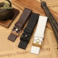Genuine Leather Strap Watchband Watch Wristwatches Band For DZ4323 DZ1657 DZ1405