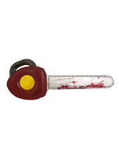 Inflatable Horror Movie Chainsaw Blood Halloween Texas Film Scary Fancy Dress