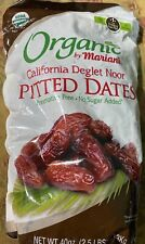 Pitted Dates . Organic By Mariani. 40 Oz  ( Free Priority Shipping)