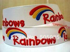 """Rainbows cinta 7/8"""" ancho nuevo vendedor Reino Unido Libre P&P"""