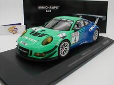 Minichamps 155176904 - PORSCHE 911 GT3 R VLN Serie 2017 No. 4 FALKEN 1:18 NEU
