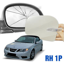 Heated Door Mirror Glass and Backing Plate RIGHT fits 2003-2011 SAAB 9-3