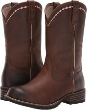 Ariat 185466 Womens Unbridled Roper Western Cowboy Boot Brown Size 9.5 B