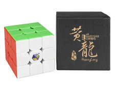 Yuxin Huanglong M 3x3 Magnetic Speed Cube 3x3 Twist Magic Cube Stickerless Gift