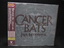 CANCER BATS Hail Destroyer + 1 JAPAN CD + DVD Alexisonfire Canada Hard/Metalcore