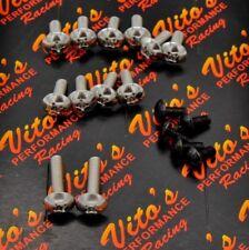 17 piece Vito's Yamaha Banshee fender bolt screw mount kit plastics hardware
