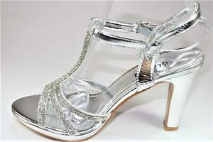 NEW WOMENS LADIES STRAPY STUDDED STILETTO HIGH HEEL ANKLE STRAP OPEN TOE SANDALS