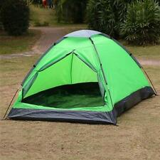 2 Person Waterproof Outdoor Foldable Tent Beach Camping Hiking US Green