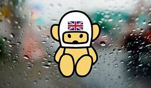 Hesketh Racing Bear James HuntF1 Retro Logo Decal Laptop Window Vinyl Sticker