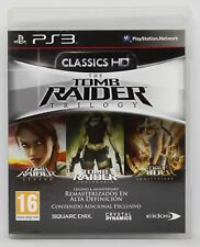THE TOMB RAIDER TRILOGY CLASSICS HD - PLAYSTATION 3 PS3 PLAY STATION PAL ESPAÑA