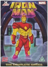 Iron Man The Complete Series Animated DVD Original UK Rele Brand New Sealed R2