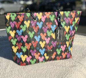 Disney Dooney & Bourke Mickey Mouse Balloons Tote 10th Anniversary NWT