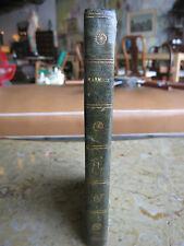 Antique Ouevres Achève de Walter Scott Romain Poetiques Vol. V